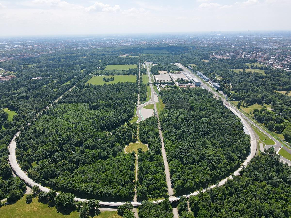 bovenaanzicht Monza